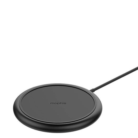 mophie - Charge Stream Pad Plus Wireless Charging Pad 10W -Black