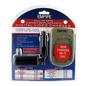 AC/DC UNIV. CHARGER FOR CANON