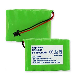 PANASONIC HHR-P516A 6V 1500mAh NIMH BATTERY