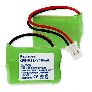 VTECH BT183642 / BT283642 2.4v 300mAh Ni-MH BATTERY