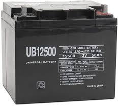 BW 12v 50ah Sealed Lead Acid