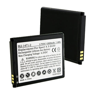 BLU C604906200L 3.7V 2000mAh LI-ION BATTERY