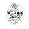 sticker of seven seas roasting anchor