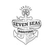Stick on tattoo of seven seas roasting anchor
