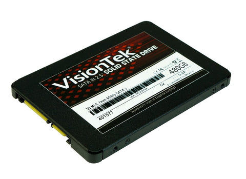 "Visiontek 480 GB 2.5"" Internal Solid State Drive - SATA"