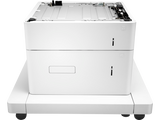 HP LASERJET 1X500-SHEET, 2,000-SHEET HCI FEEDER WITH STAND