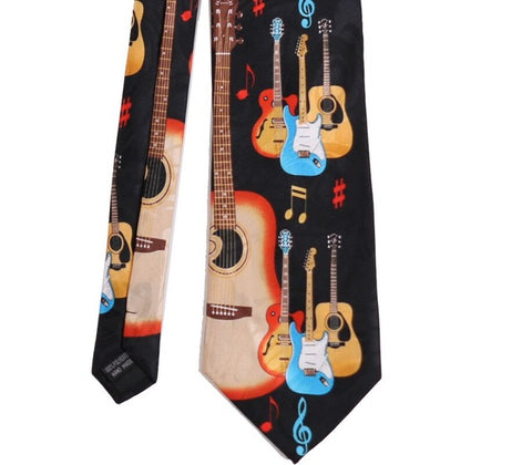 Fancy Music Party Necktie by SayItWithSocks.co