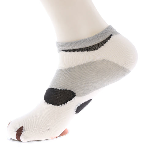 Cat Paws Women's Printed Ankle Socks by sayitwithsocks.co