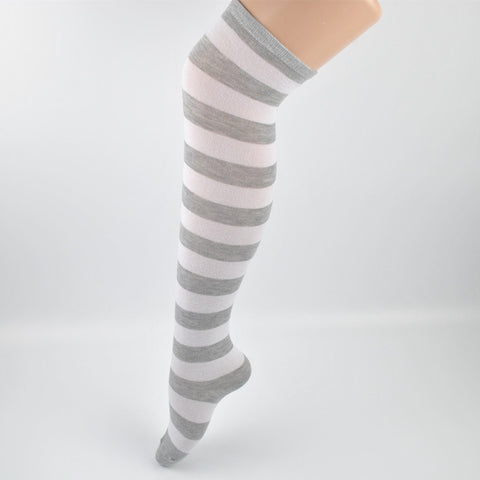 Lovely Long Striped Women's Knee High Socks by SayItWithSocks.co