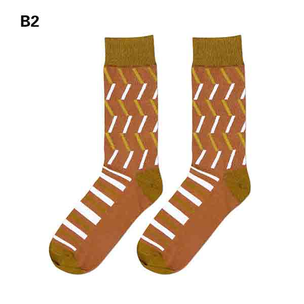 British Style Novelty Colorful Women's Crew Socks