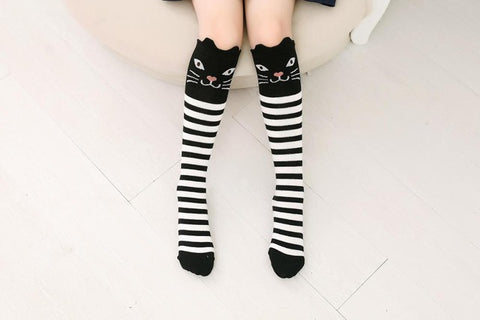 Image of Lovely Patterned Women's Knee High Socks by SayItWithSocks.co