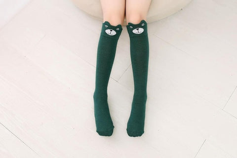 Lovely Patterned Women's Knee High Socks