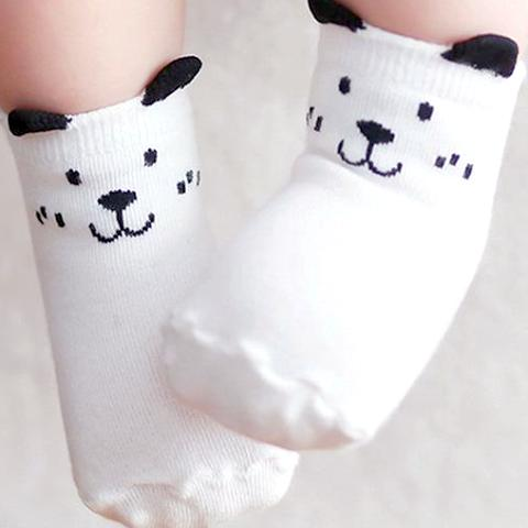 Image of Non-slip Cute Cartoon Baby Socks by SayItWithSocks.co
