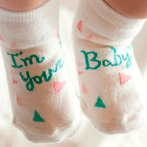 Non-slip Cute Cartoon Baby Socks by SayItWithSocks.co