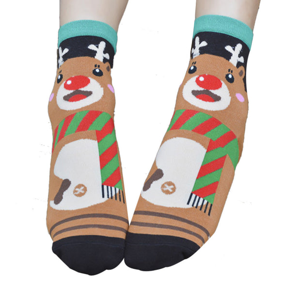 Cute Animals Cartoon Women's Socks by SayItWithSocks.co