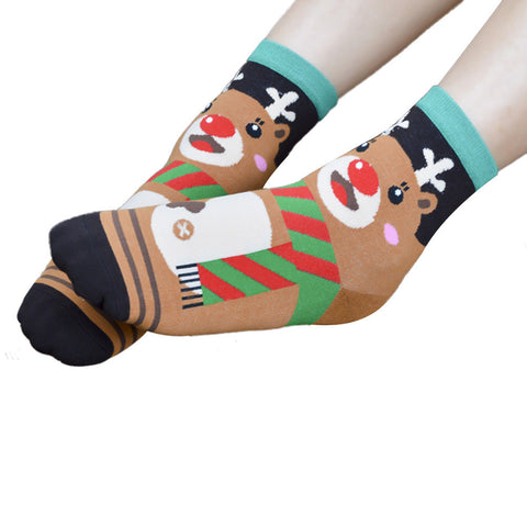 Cute Animals Cartoon Women's Ankle Socks