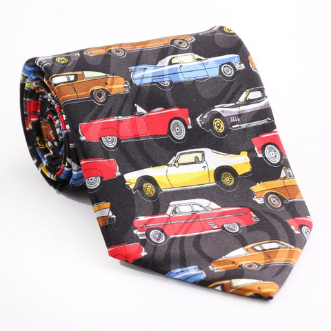 Image of Fancy Printed Casual Neckties by SayItWithSocks.co