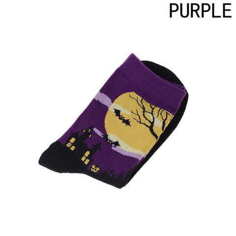 Image of Cool Halloween Women's Ankle Socks by SayItWithSocks.co