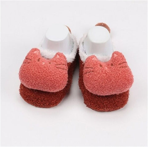 Cute Newborn Fleece Fox Baby Socks