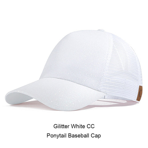 Casual Ponytail Women's Baseball Cap