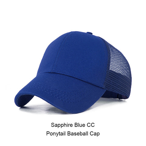 Image of Casual Ponytail Women's Baseball Cap by SayItWithSocks.co
