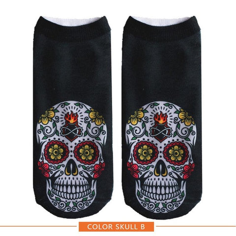 Image of Cool Happy Halloween Ankle Socks
