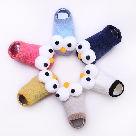 Image of Funny Big Eyes Baby Socks by SayItWithSocks.co