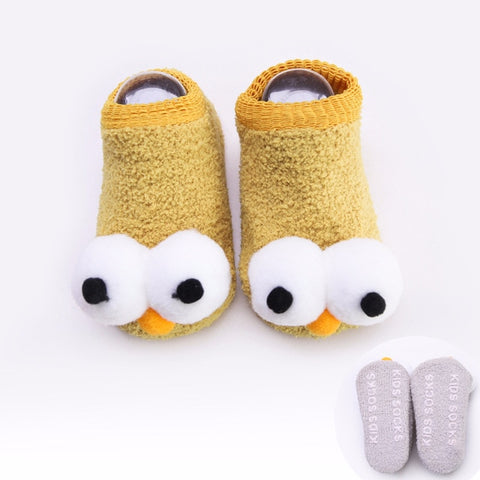 Funny Big Eyes Baby Socks by SayItWithSocks.co