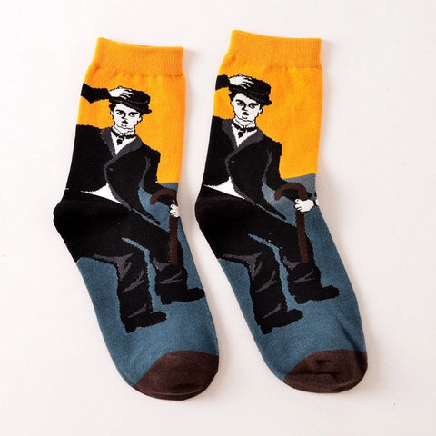 Classic Dancing Characters Socks by SayItWithSocks.co