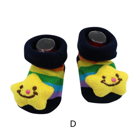 Cute Cartoon Anti-Slip Baby Socks