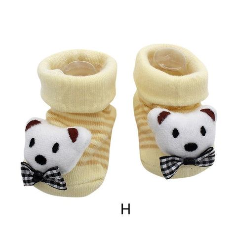 Image of Cute Cartoon Anti-Slip Baby Socks by SayItWithSocks.co