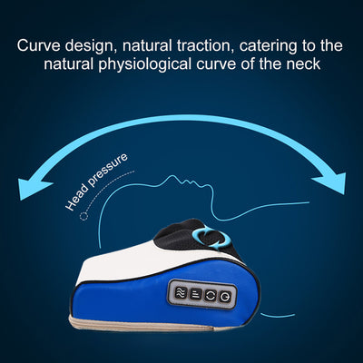 Neck Massager Cervical Massager  Waist Shoulder Back Electric Multifunction Massage Pillow Household Full Body Massage Cushion