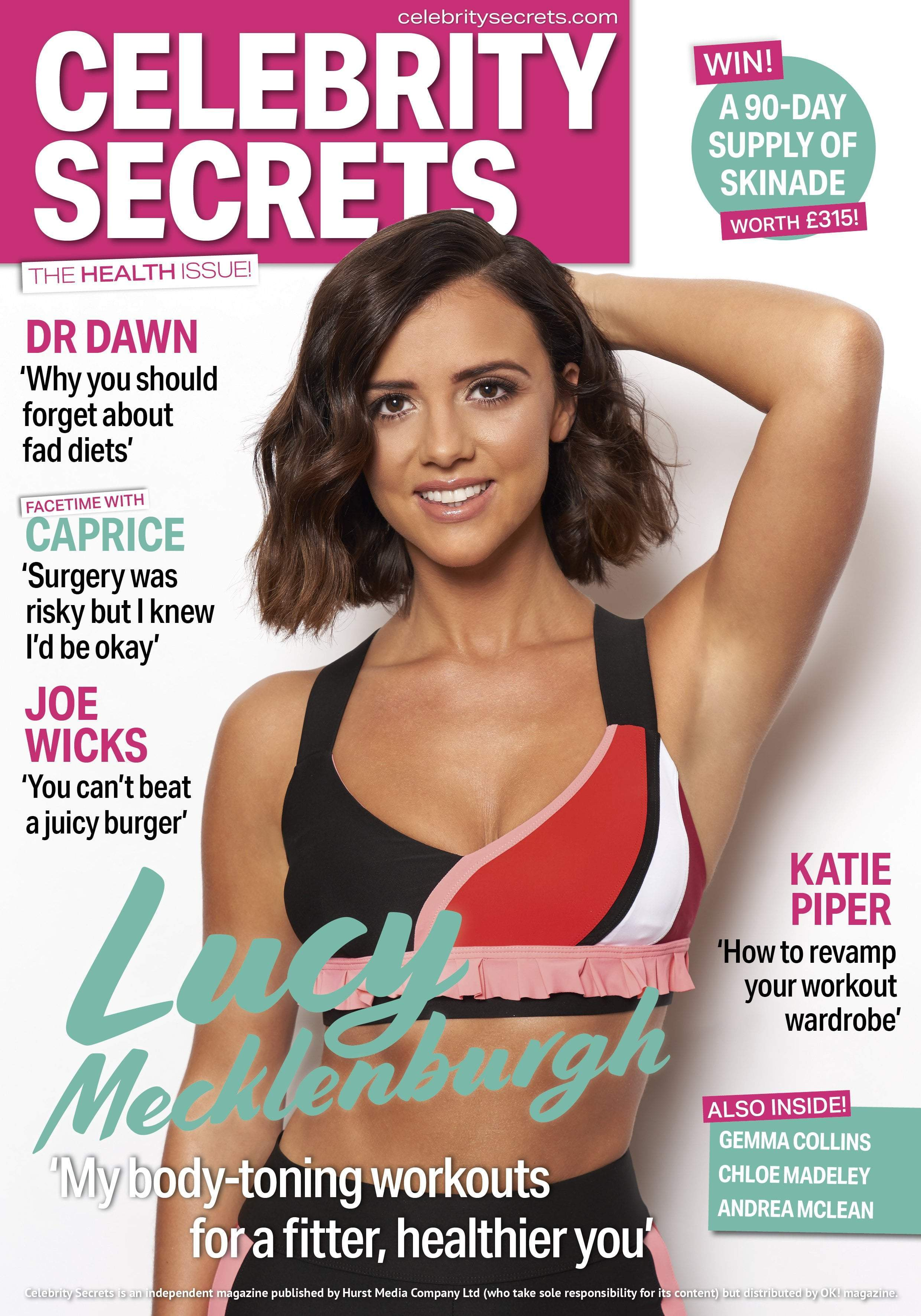 "Celebrity Secrets - ""My body-toning workouts for a fitter, healthier you"""