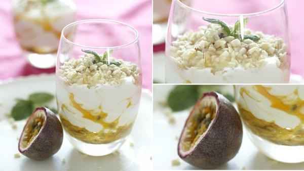 #FoodieFriday: Yoghurt with Passion Fruit & Macadamia Nuts