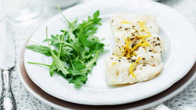 Baked Cod with Lemon and Olive Oil