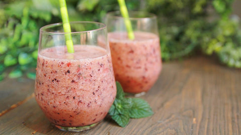Berry and Spinach Smoothie