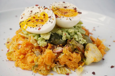 Bubble and Squeak Breakfast Stack