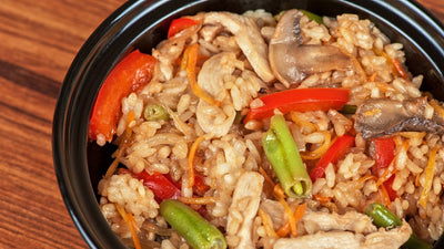 Chicken Stir Fry with Brown Rice