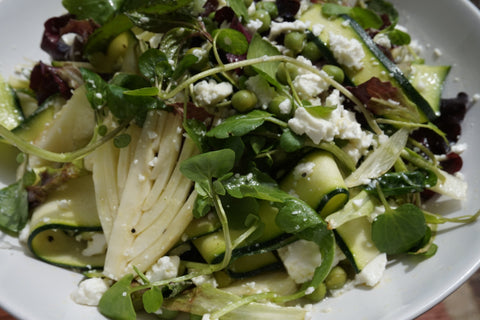 Fennel, Feta and Courgette Salad