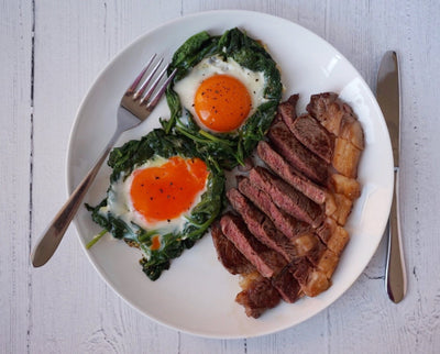 Steak and Spinach Egg Cups
