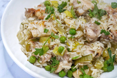 Greek Chicken and Rice
