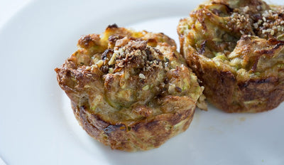 Ham and Courgette Muffins