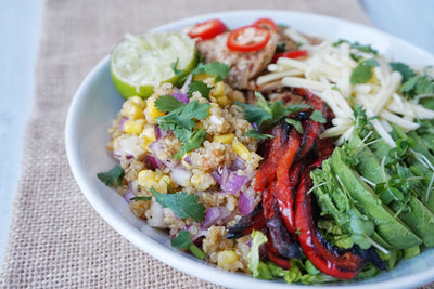 Mexican Chicken Buddha Bowl