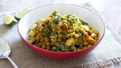 Parsnip and Chickpea Curry