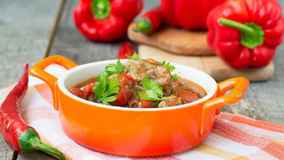 Spicy Vegetable and Beef Casserole