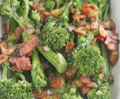 Turkey Rashers and Tenderstem Broccoli