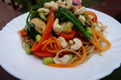 Cashew and Vegetable Stir Fry