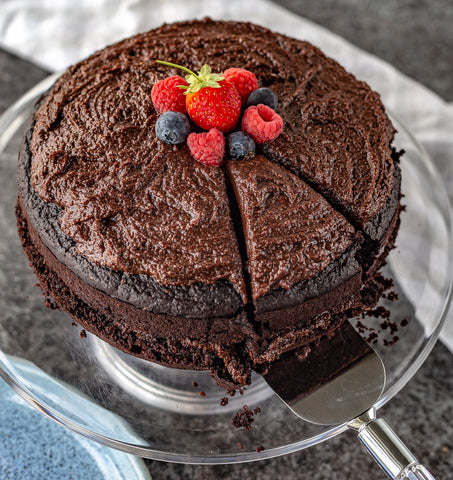 Vegan Chocolate Cinnamon Cake