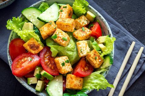 Spiced Tofu Salad