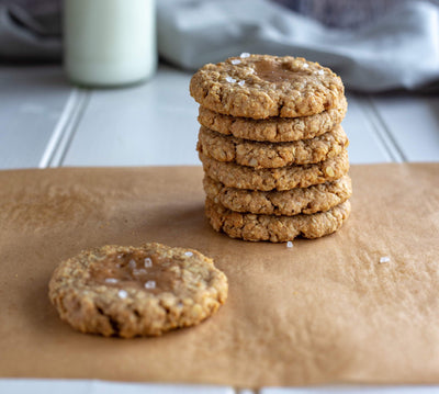 Salted Caramel Cashew Cookie